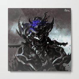 Darkfall Blackfire Guard Metal Print