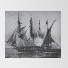 Gaspard Vence - 1777 / Corsaire Throw Blanket