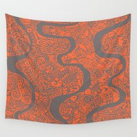 safari Wall Tapestries featuring Safari by datavis/pwowk