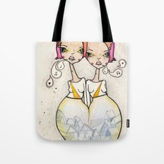 Symmetrical Tote Bag