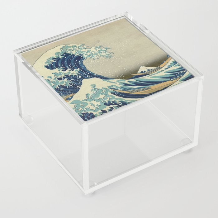 The Great Wave off Kanagawa Acrylic Box