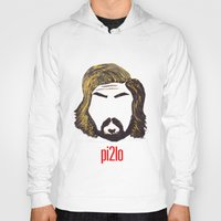 juventus Hoodies featuring Pirlo 21 by wearwolves