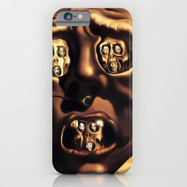 Salvador Dali The Face of War (The Visage of War) 1940 Artwork for Wall Art, Prints, Posters, Tshirts, Men, Women, Kids iPhone Case