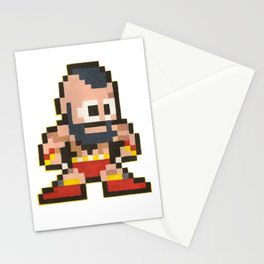 Zanglief 8 bit water color  Stationery Cards