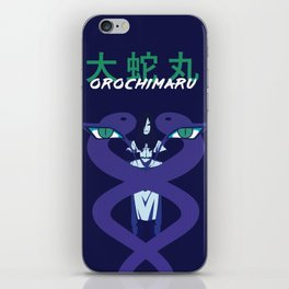 The King of Serpents iPhone Skin