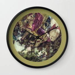 Flying Carousel Wall Clock