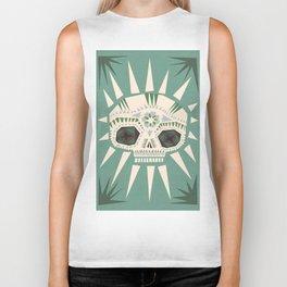 Sugar skull II Biker Tank