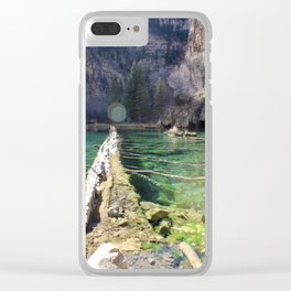 Hanging Lake Clear iPhone Case