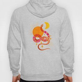 Abstraction_SUN_MOON_SNAKE_Minimalism_001 Hoody