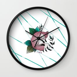 Graphic Fox A. Coop3r Wall Clock