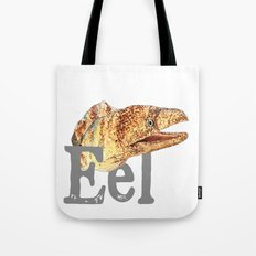 E is for Eel Tote Bag