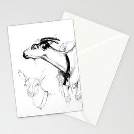 goats sk124 Stationery Cards