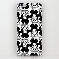 basquiat iPhone & iPod Skins featuring Basquiat by CLSNYC
