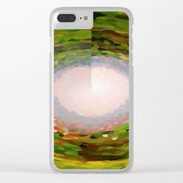 Landscape of Smaragd Emerald Clear iPhone Case