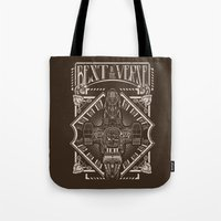 verse Tote Bags featuring Best in the 'Verse by Buzatron