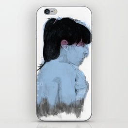 Fall Over, Spring Back iPhone Skin
