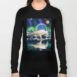 Spirit Raven - Keeper of Worlds Long Sleeve T-shirt