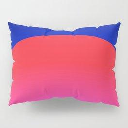 Sunset Red Pillow Sham