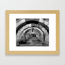 Izmir Agora Framed Art Print