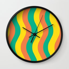Sweet Potato Fries Wall Clock