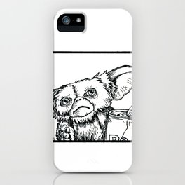 Brain Fodder - Mogwai iPhone Case