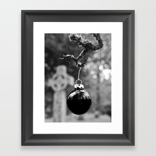 Simple ornament Framed Art Print