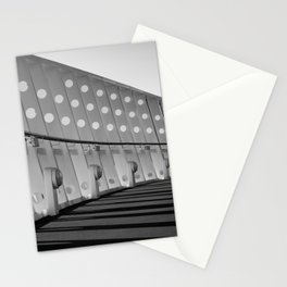 Ship architecture in black and white Stationery Cards