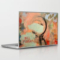 bill murray Laptop & iPad Skins featuring It's Bill Murray if I say it's Bill Murray by Chad Beroth