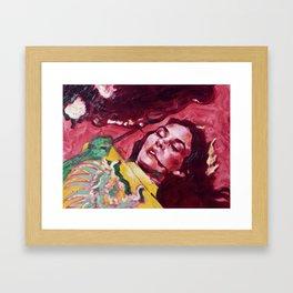 The Countess Dracula Framed Art Print