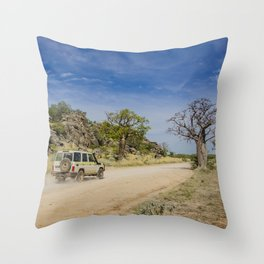 Leopold Downs Road Throw Pillow