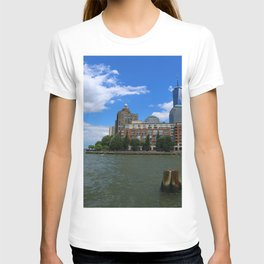 Manhattan And Hudson River T-shirt