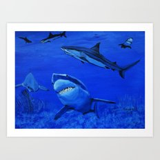 Life in the Sea  Art Print