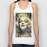 marilyn Tank Tops featuring MARILYN by Vonis