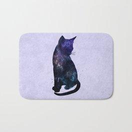 Galactic Cat Bath Mat