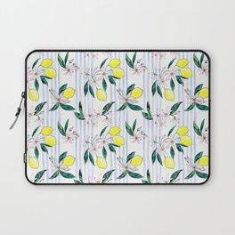 Lemon Leaves Laptop Sleeve