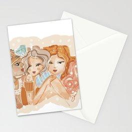 Força feminina Stationery Cards