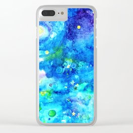 Higher Than The Heavens Clear iPhone Case
