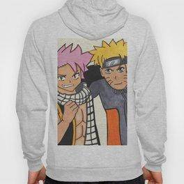 Naruto and Natsu Hoody