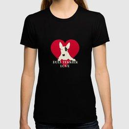 Bull Terrier Love T-shirt