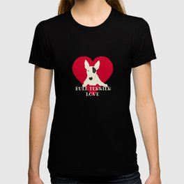 Bull Terrier Love T-shirt