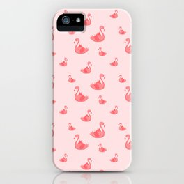 Pink flamingle iPhone Case