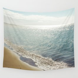 beauty and the beach Wall Tapestry