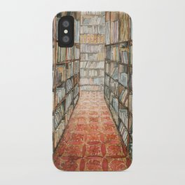 old library iPhone Case
