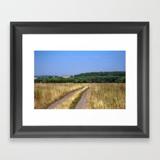 Country road 14 Framed Art Print