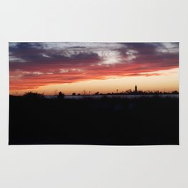 Southampton South Beach Sunset Rug
