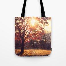 Autumn Sun  Tote Bag