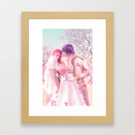 Jerza - Wedding Day Framed Art Print