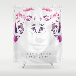 Bacall Shower Curtain