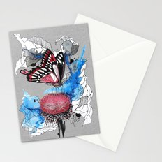 Butterfly I by carographic, Carolyn Mielke Stationery Cards