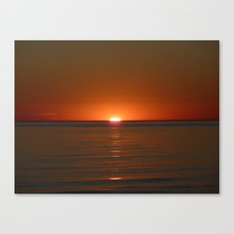 Michigan Sunset 4 Canvas Print